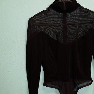 Vintage Goth Bodysuit